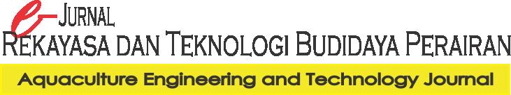 e-Jurnal Rekayasa dan Teknologi Budidaya Perairan