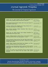 Jurnal Agrotek Tropika Vol.4 No.1 Januari 2016